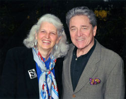 Celia Paul and Stephen Rosen
